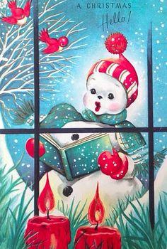 Christmas hello.