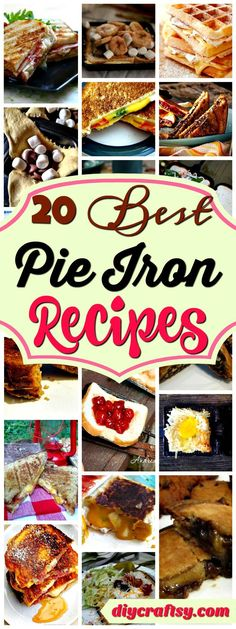 We have rounded up these 15 best and easy to make pie iron recipes for the campers, adventure lovers and outdoor party people. people Best & Easy To Make Pie Iron Recipes Monte Cristo Sandwich, Cheeseburger Pie, Camping Hacks, Tent Camping, Camping Cabins, Camping Supplies, Camping Trailers, Minivan Camping, Camping Storage