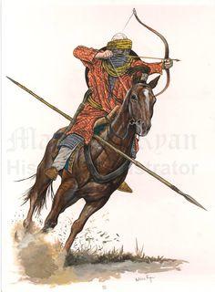 0600 -0699 Arabic ansar rider (VII century).