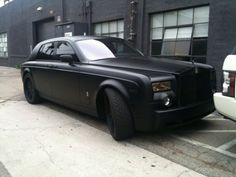 Matte black phantom.