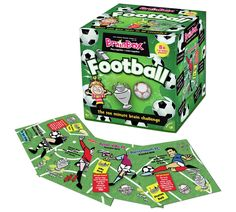Buy Brainbox Football Quiz Game at Argos.co.uk, visit Argos.co.uk to shop online for Board games, Board games, jigsaws and puzzles, Toys