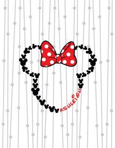 Minnie Mouse Monogram, Mouse Ears SVG, Bow Monogram, Bow Monogram SVG, DXF, Digital Cut File, Silhouette Studio, Cricut, Instant Download by SassySouthernSVGs on Etsy https://www.etsy.com/listing/278634142/minnie-mouse-monogram-mouse-ears-svg-bow
