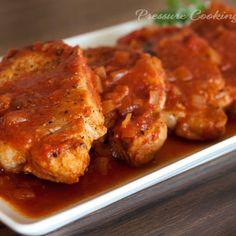 Pork Chops in the Pressure Cooker @keyingredient #soup #pork