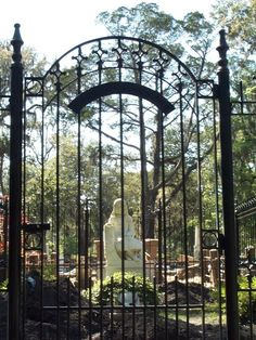 Bonaventure Cemetery - Savannah  This hauntingly beautiful cemetery in Savannah was used as a location in the film Midnight in the Garden of Good and Evil. With its draping Spanish moss and still, thick atmosphere, it's the perfect place for a haunting. Indeed, locals tell a tale about a girl named Gracie Watson whose life-l