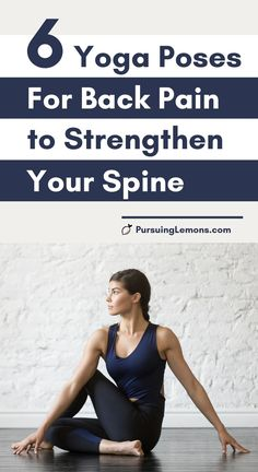 Start relieving back pain by doing these yoga poses that soothe and strengthen back muscles. Here are the yoga poses to strengthen and relieve back pain! Yoga Poses For Back, Yoga For Back Pain, Relieve Back Pain, Yoga For Weight Loss, Weight Loss Diet Plan, Lose Weight, Yoga Poses For Beginners, Workout For Beginners, Fitness Tracker