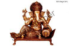 Brass #Ganesha Statue Shop at #craftshopsindia