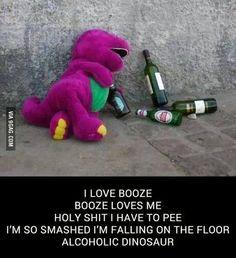 Best Barney parody ever. Period.