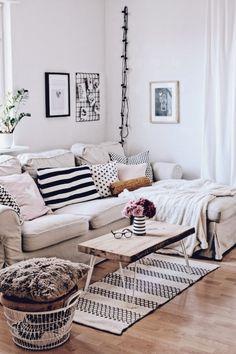 Wohnzimmer im skandinavischen Stil Home Decorating Ideas Living Room
