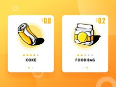 Food & Icon : Satisfy Your Appetite 3 by SA9527 - Dribbble