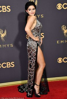Young actress Ariel Winter sexy attends the Annual Primetime Emmy Awards in Los Angeles, Ariel Winter Workman (born January Ariel Winter Hot, Arial Winter, Indian Bollywood Actress, Celebs, Celebrities, Beautiful Legs, Beautiful Women, Strapless Dress Formal, Dresses