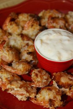Oven Baked Coconut Shrimp with Pina Colada Dipping Sauce Recipe like Red Lobster