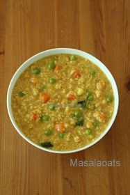 Cooking at Mayflower: Masala vegetable oats