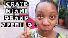 Crate Miami 2017 Grand Opening In Brickell & Driving Around Brickell Miami