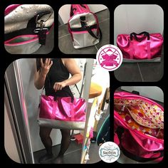 Izzie créations sur Instagram: Parée pour mes futures vacances en Bretagne 😉 avec mon nouveau sac de voyage by Izzie créations . #izziecréations #sacdevoyage…
