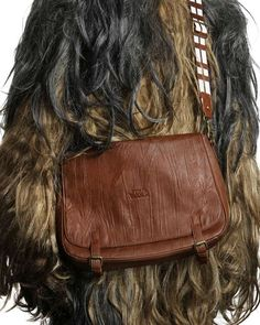 The 'Star Wars Chewbacca Messenger Bag' Channels Your Inner Geek trendhunter.com