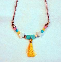 Quaste Halskette 2 von Mirifice auf DaWanda.com