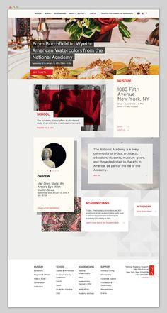 web + typography + modern + grid
