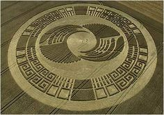 Detailed Study of Crop Circles ,US and UFO's influence.