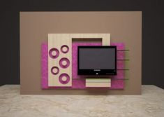 Lcd wall units family rooms that exploit the cornor space open up whatever is lot of the space for more versatile settlement, Wall Tv, 3d Wall, Lcd Units, Lcd Television, Dhal, Tv Unit Design, Wall Units, Pop Design, Tv Cabinets