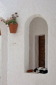 One of the white villages... http://www.andalusie-zeezicht.nl/