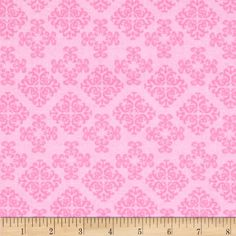 Chattune Medallions Tone on Tone Pink from @fabricdotcom  From Fabric Editions, this cotton print is perfect for quilting, apparel and home décor accents. Colors include shades of pink.
