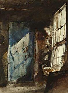 Blue - Brown / Andrew Wyeth's 'Windows'