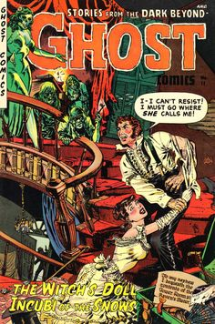 Comic Book Cover For Ghost Comics #11