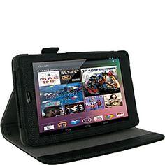 rooCASE Multi-Angle Folio Case for Google Nexus 7 - Black - via eBags.com!