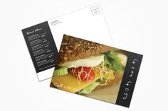Check out Fast Food Postcard by printdesignbundle on Creative Market