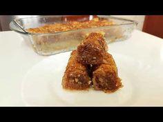 Σαραγλί με καρύδια νηστίσιμο!! - YouTube