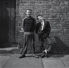 Bille Prendergast and friend, <ay 1957 - Scotswood Road - Photography - Amber Online