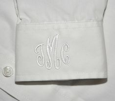 Fonts :: Embroidery Fonts :: Classic Mini Monoram Font:: $5.00 Includes 1.5 inch middle letter and 1 inch side letters