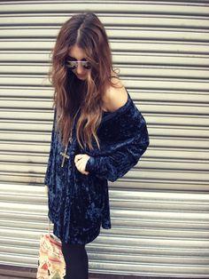 Velvet dress.. So cute for the holidays.