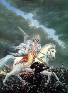 Vishnu's Kalki Avatar
