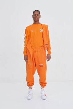Heron Preston 2017 Fall Winter Collection Paris Fashion Week
