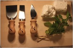 Love these!   Cooking Gift/ Kitchen Gift Personalized by lookingglassmemory, $28.00  Check em out from Etsy