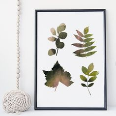 Leaf watercolor botanical wall art print poster - unframed. I am a Canadian based artist and all artwork is done by me in my studio. This is an UNFRAMED archival high quality print of my original illustration. It is printed on Moab 100% cotton archival fine art heavy paper. Your print will be signed and dated in the back and carefully packaged with sturdy backings and sleeves. Larger prints are shipped rolled in a mailing tube to minimize the risk of damage. NOTE: Depending on your…