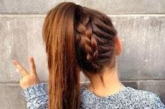 36 best High School HairStyles images on Pinterest | Plaits ...