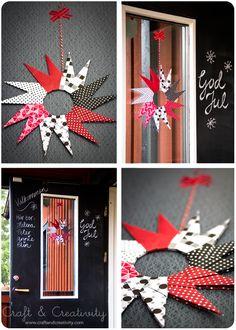 Origamistjärnor – Origami paper stars | Craft & Creativity – Pyssel & DIY