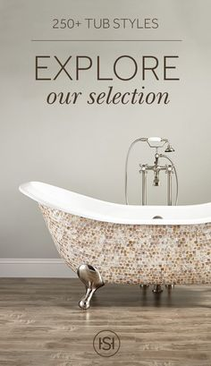 Strike the perfect balance of comfort and beauty with a new bathtub. Featuring spacious interiors and stylish designs, our selection will turn your bathroom into a peaceful, luxurious retreat.