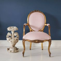 Sacre Coeur French Chair   Pink Gold Chair