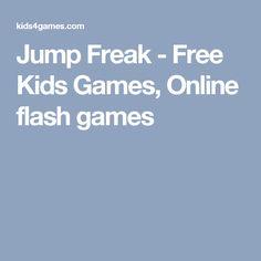 Jump Freak - Free Kids Games, Online flash games