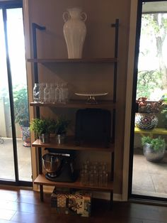 channeling my inner Joanna Gaines - shelves from CB2