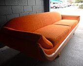 mid century gondola sofa