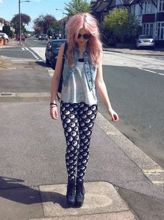 TUMBLR SUMMER OUTFITS WITH LEGGINGS on The Hunt