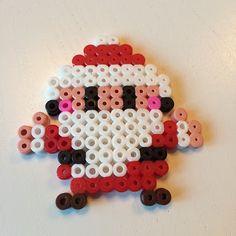 Santa Claus Christmas hama beads by mamaria_79