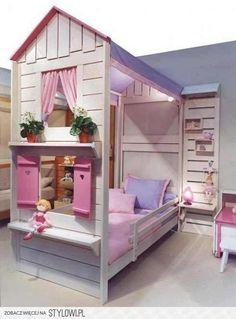 pokój dla dziewczynki źródło: pinterest.com na Stylowi.pl