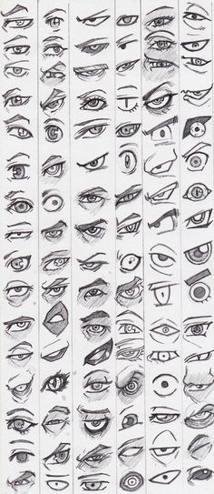 Learn to draw eyes - reference pictures - # learning - . - Learn to draw eyes – reference pictures – – drawings of people Eye Drawing Tutorials, Drawing Techniques, Drawing Tips, Drawing Base, Drawing Ideas, Drawing Drawing, Anime Eyes Drawing, Figure Drawing, How To Draw Anime