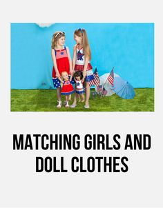 Matching Girls and Doll Clothes - Pinned from @Glossi, a free digital magazine creation platform