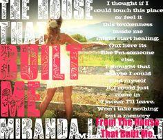 Country Music Lyrics #Miranda Lambert